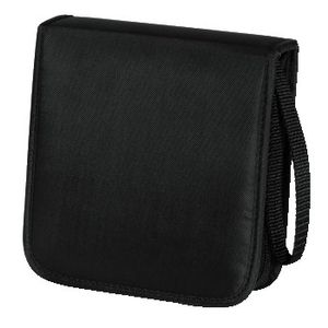 HAMA CD WALLET NYLON 20, BLACK  (00033830)