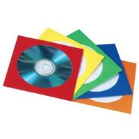 1x100 Paper Sleeves colour- assorted           78369
