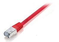 U/UTP C6 patch cable 5.0m red. equip