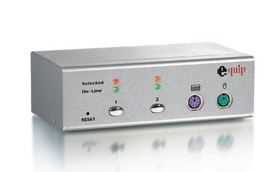 KVM Switch desktop 2 port  ps/2