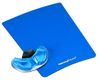 FELLOWES CRYSTAL PALM SUPPORT BLUE HEALTH-V