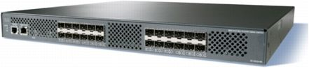 MDS 9124 4 GBPS FC SWITCH WITH 8 PORTS ACTIVE EN