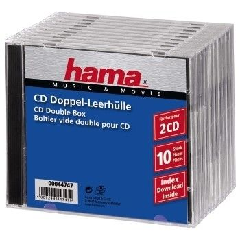 CD Double Box 10er Jewel-Case                 44747