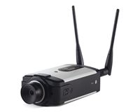 WIRELESS IP VIDEO CAMERA WITH AUDIO POE