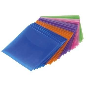 1x25 CD/DVD           51066 Protective Sleeves coloured