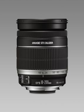 EF-S 18-200mm 1:3, 5-5, 6IS Objectiv