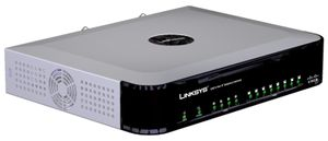 Linksys SPA8000 8-Port Telephony Gateway - VoIP-telefonadapter - EN, Fast EN