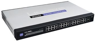RACK SP SWITCH L2 24X10/100 + 2X10/ 100/ 1000 + 2XDUAL PERS. IN