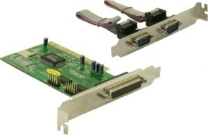 PCI 2x Seriel Porte - 1x Parallel Port Win95/98, DOS,Win NT