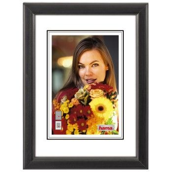 Bella black           30x40 wooden frame               31682