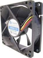 CHIEFTEC Case Fan 80x80x25 Ball Bearing 4Pin PWM and 4 Pin PSU Connector (AF-0825PWM)