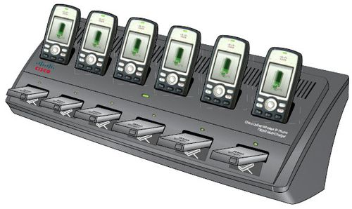 CISCO UNIFIED WIRELESS IP PHONE 7921G MULTI-CHARGER SPARE EN (CP-MCHGR-7925G= $DEL)