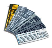 Keyboard 104 keys, QWERTY, bla