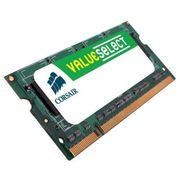 Corsair Value Select - DDR2 - 2 GB - SO DIMM 200-pin - 800 MHz / PC2-6400 - CL5 - ikke-bufret - ikke-ECC