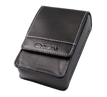 CASIO EX-Case BD 15 black faux leather bag (EX-CASEBD15)