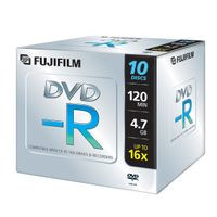 DVD-R 4.7 GB 16x Jewel Case (10)