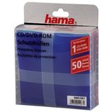 HAMA 1x50 CD/DVD           51067 Protective Sleeves coloured