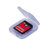 SD-Card Box transparent                42344