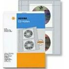 HERMA CD-Sleeves for 2 CDs 10 Pcs.        7682 (7682)