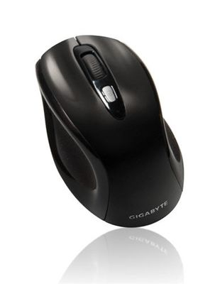 GM-M7600 WIRELESS MOUSE USB 2.4GHZ WIRELESS BLACK IN