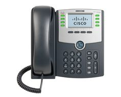 8 LINE IP PHONE WITH DISPLAY POE & PC PORT