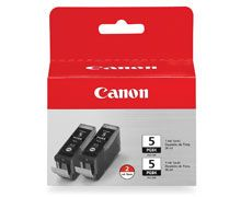 Blekk CANON PGI-5BK Twin Pack sort (2)