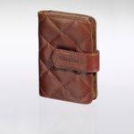 FREECOM Brown leather luxury case Mobile XXS