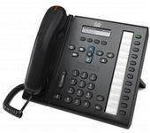 CISCO Unified IP Phone 6961 Charcoal Slimline (CP-6961-CL-K9= $DEL)