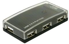 DELOCK USB-HUB Delock USB 2.0 4Port +