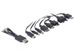 Ladekabel USB > 8-fach
