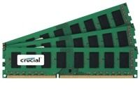 CRUCIAL DDR3 1333MHz 12GB KIT CL9 Kit w/3x DDR3 4GB, 240pin (CT3KIT51264BA1339)