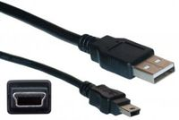 CISCO Console Cable 6 ft with USB Type A and mini-B Retail (CAB-CONSOLE-USB)