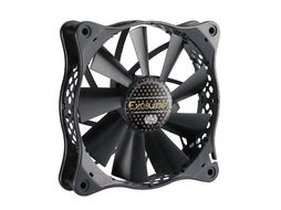 Cooler Master Case Fan Xcalibur High Air Flow Fan 120mm Barometric Ball Baring & Removable Fan Blades PWM (R4-EXBB-20PK-R0)