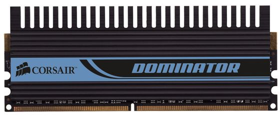 Dominator DHX+ DDR3 1600MHz 6GB Kit w/3x 2GB XMS3 DHX+, CL8-8-8-24,  for Core i7, w/Fan& Connector,  1.65v