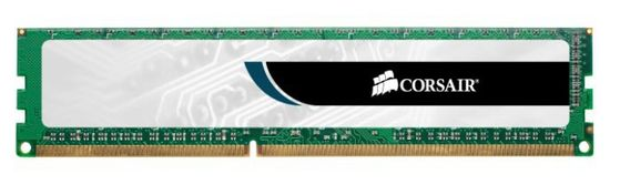 Value S. DDR3 1333MHz 4GB CL9Unbuffered,  CL9-9-9-24,  240pin, 1.5V, for Intel and AMD DDR3