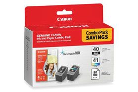 PG-40 & CL-41 INK CARTRIDGES (X1 EACH)