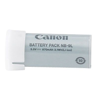 Canon, battery NB-9L