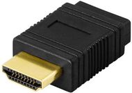 ALCADON HDMI-kabel 1.4 Ethernet 3D  1,5m 19-pin ha-ha, 4096x2160,  returljud (HDMI-1.5)