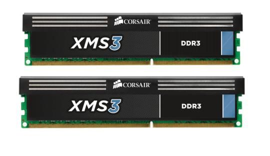 Corsair 8GB (KIT) DDR3 1600MHz/ CL9/ XMS3 for AMD and Intel Core i7, i5 and i3 (4GBx2)