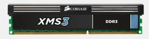 4GB DDR3 1600MHz/ CL9-9-9-24/ XMS3 with Classic Heat Spreader, Core i7, Core i5 and Core 2