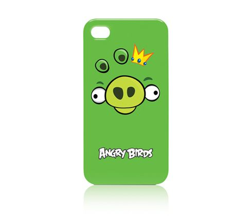Angry Birds Case iPhone 4 Green