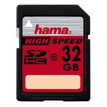 HAMA SDHC High Speed 32GB Pro