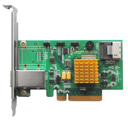 Rocket 2721 4channel PCI-E 2.0X8 to SAS/SATA III