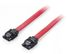 EQUIP Flat cable SATA 6Gbps  05m with metal l