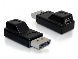 DisplayPort ha till  Mini DisplayPort ho, svart
