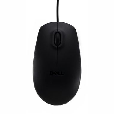 Black Optical Mouse 2 button scroll