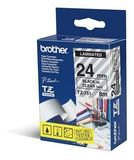 BROTHER 24MM Black On Clear Tape