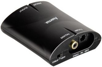 HAMA Audio Converter AC81 omvandler digital til analog (00083181)