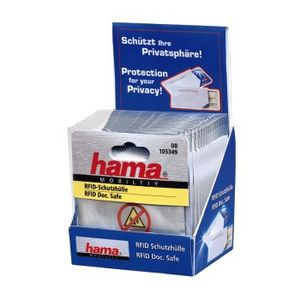 HAMA 1x2 protective sleeves for ID Cards                  105349 (105349)