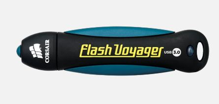 CORSAIR Flash Voyager 8GB USB 3.0 USB 3.0, Rubber housing, Water resistant,  Shock proof (CMFVY3-8GB)